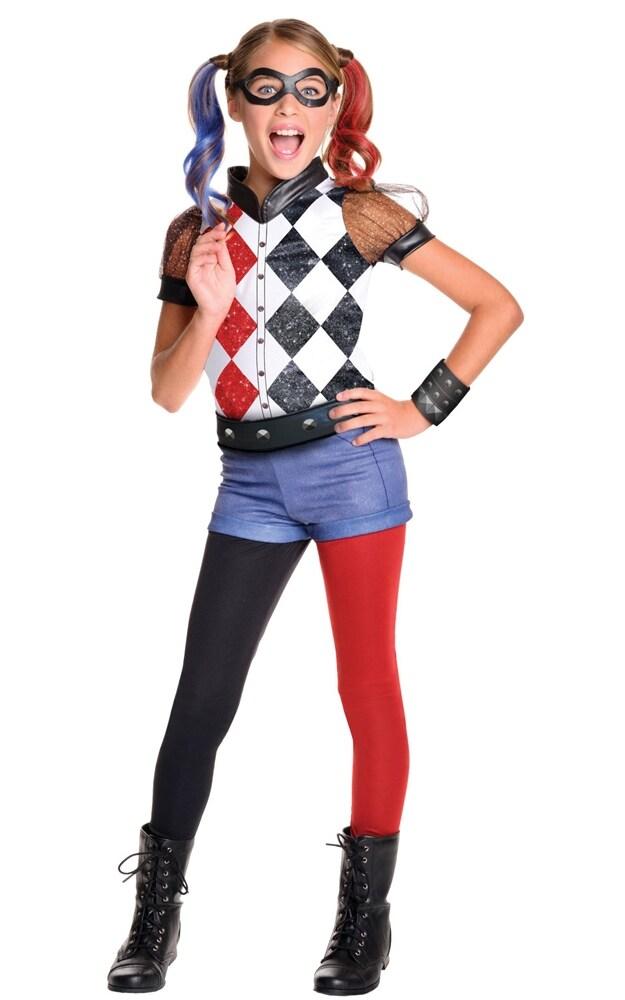 cb90c965 Harley Quinn Kostyme Deluxe Barn 3-10 år