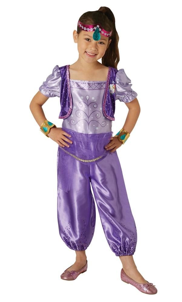 51aff7bc Shimmer & Shine, Shimmer Kostyme Barn 3-6 år